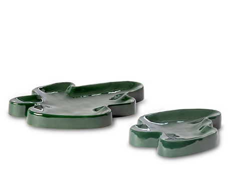 Ceramic Trays Emerald