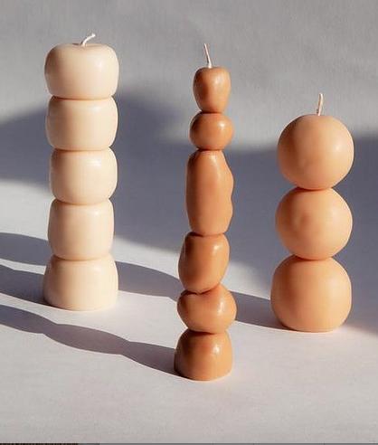 Soy Wax Candles - Piu Set of 3