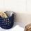 Thumbnail: Blue Ceramic Basket
