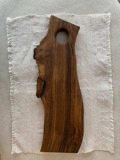 Solid Walnut Board 46x15 cm