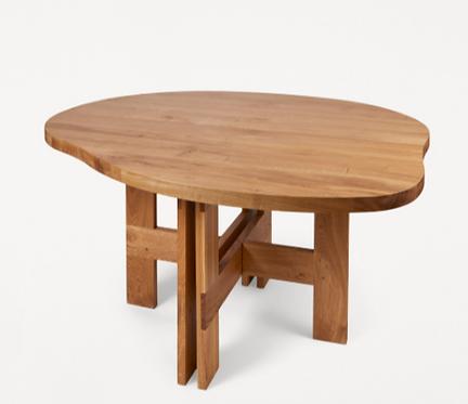 Organic Oak Dining Table