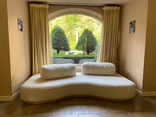 Organic Sofa - Cream 270x100 cm