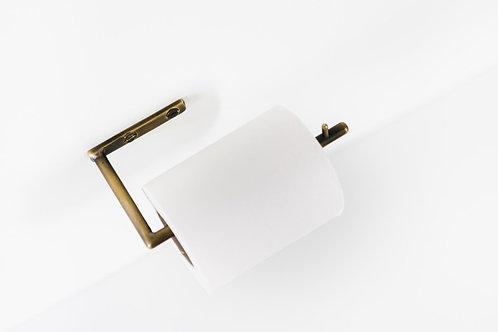 Paper Holder Aged Brass
