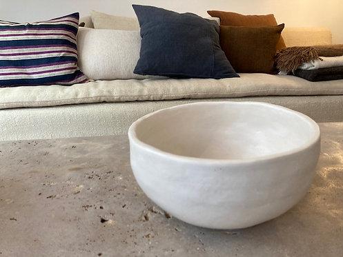 White Ceramic Bowl ⌀27cm