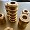Thumbnail: Candleholder Massive Brass