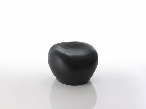Round Pebble Seat Lacquered Fiberglass