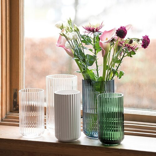 Mouth Blown Crystal Vases