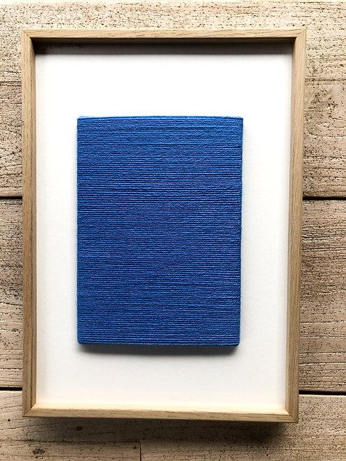 Artwork Minimal Blue Rope