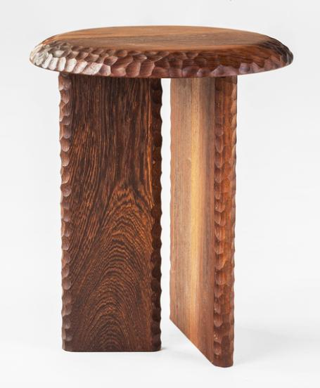 Solid Panga Panga Wood Stool
