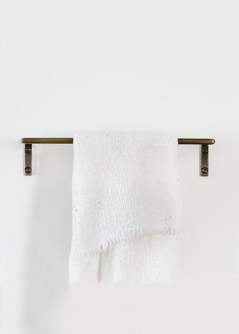 Towel Rails Aged Brass