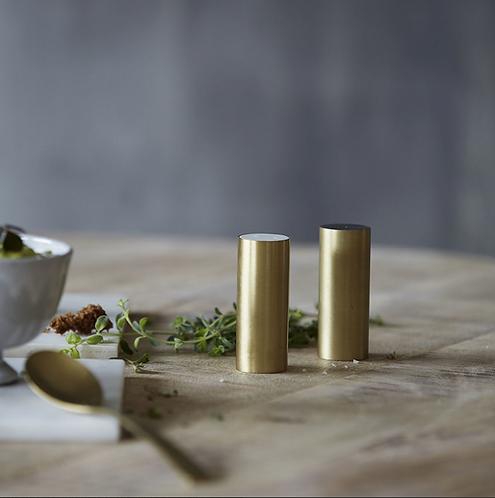 Brass Salt & Pepper Shaker