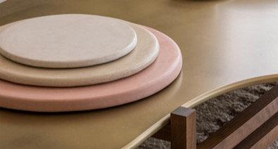 Stucco Plates
