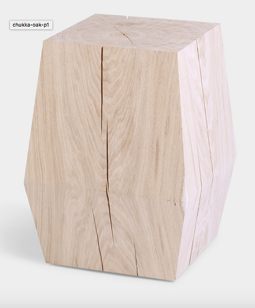 Chukka Oak Stool