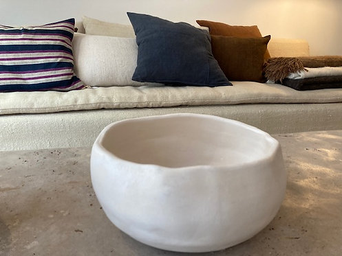 White Ceramic Bowl ⌀29cm