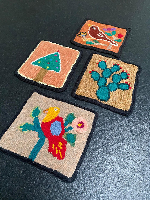 Colorfull Coasters