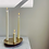 Thumbnail: Brass Trio Candle Holder H W