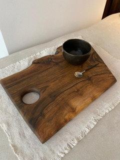 Solid Walnut Board L 38x25 cm