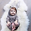 Thumbnail: Baby Bunny Ear Rompers Infant Rabbit Jumpsuit Outfit Cotton Boys Girls Hare Play