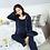 Thumbnail: 2018 Cotton Moms 3pcs Maternity sleepwear Nursing nightgown Maternity Breastfeed