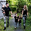 Thumbnail: Puseky Family Shirt Sets Camouflage Fashion Short-Sleeve Army Green