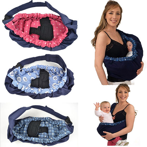 Front Cradle Pouch Ring Sling Carrier for Baby, Toddler, Newborn Baby
