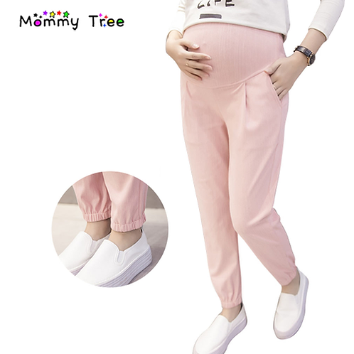 4 Color Maternity Harem Pants Casual Maternity Clothes Summer Pregnancy Clothing
