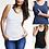 Thumbnail: Pregnancy&maternity vest Tshirt Pajamas Sleepwear Nursing Pregnant Pajamas Breas