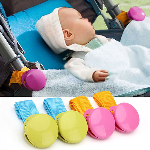 Clasp Baby Stroller Accessory, 2018 Hot Selling 2pcs/set Multicolor