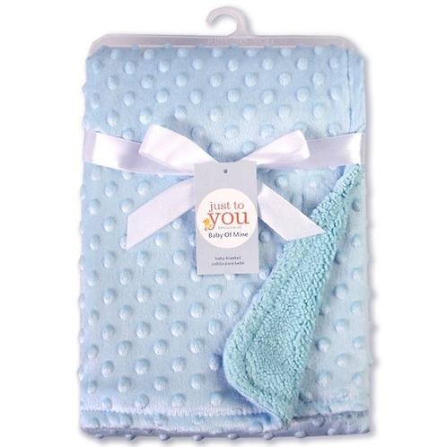 76x102cm Point Fleece Baby Sheet Blanket Newborn Baby Swaddle Wrap