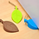 Thumbnail: Silicone Rubber Door Stopper Cute Leaves baby Finger Safety Protection Wedge Kid