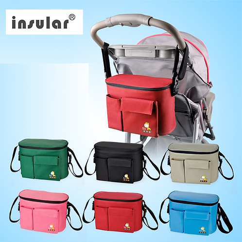 Insulated Stroller Storage Bag, Messenger style
