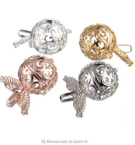 Popular Pregnancy Ball Locket, Wings Aromatherapy for Essential oils