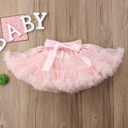 Cute Newborn Baby Girl Fluffy Tutu Skirt Princess Party Bow Petticoat Ballet Pet