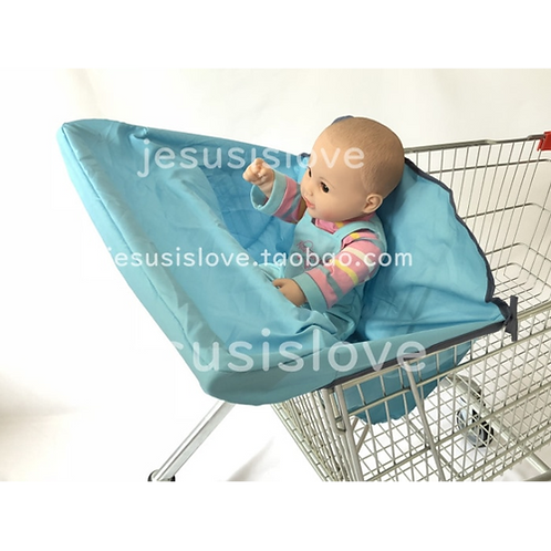 5 Solid colors-Comfy Cart Cover & High Chair Cover