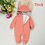 Thumbnail: DLY074 Newborn Clothing Cotton solid thick hooded baby warm fall and winter