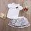 Thumbnail: 2PCS Toddler Infant Kids Child Baby Girls T shirt Tops Flower Tutu Skirt Outfits