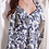 Thumbnail: Pregnant Women Nightgown Bathrobe Vintage Floral Print New Set 2 Piece Sleep