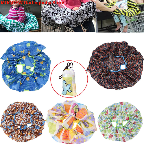6*9.5 CM Infant Compact Shopping Cart Covers