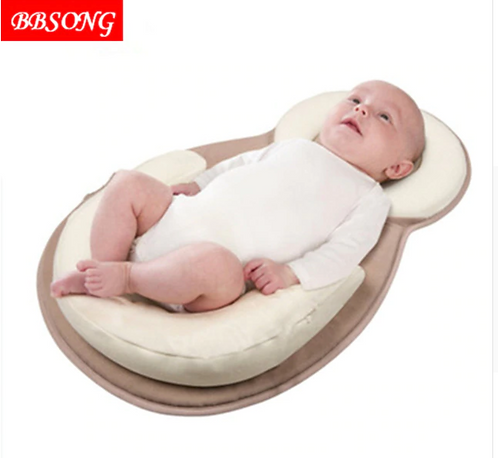 Comfortable Baby Pillow Infant Toddler Sleep Position Pillow Baby Sleeping Anti