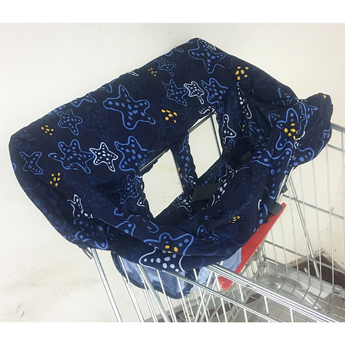 Foldable Portable Baby Shopping Car Cart Mat Chair Cover Anti-Stain Dirty High