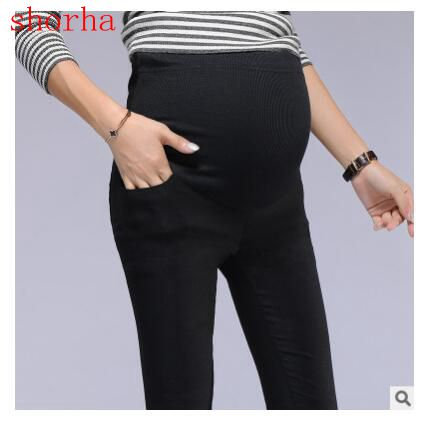 Maternity Cotton beautiful Pants Casual Maternity Clothes Summer Pregnancy Cloth
