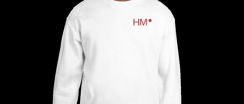 Pullover mit rotem HM-Logo (gestickt)