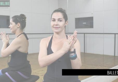 Reverence na aula de Ballet