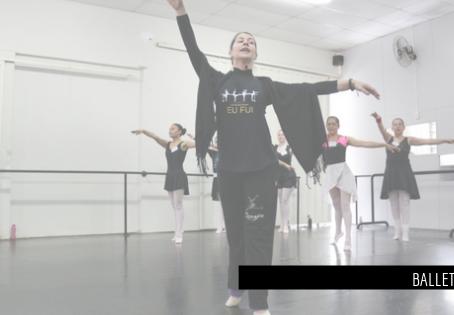 Quando usar braços na aula de Ballet Adulto?