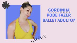 O peso e a idade não te impedem de ser leve dançando Ballet