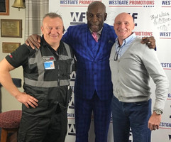 Real Combat System Bristol taking care of and meeting Big Frank Bruno