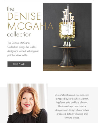 Currey&Co adds Denise McGaha Collection!