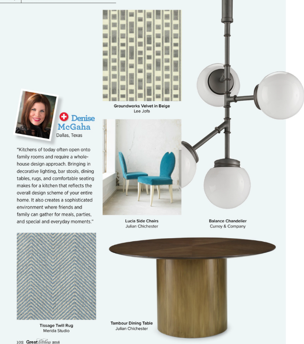 Currey & Company Balance Fixture in Traditional Home Magazine 2016