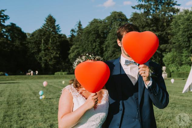 Coeurs de mariés...