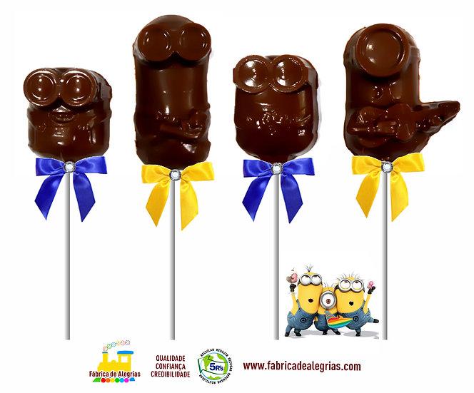 Pirulitos de Chocolate Minions